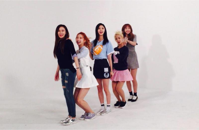 EXID biểu diễn trong Weekly Idol.