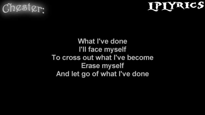 Lời bài hát What I've Done