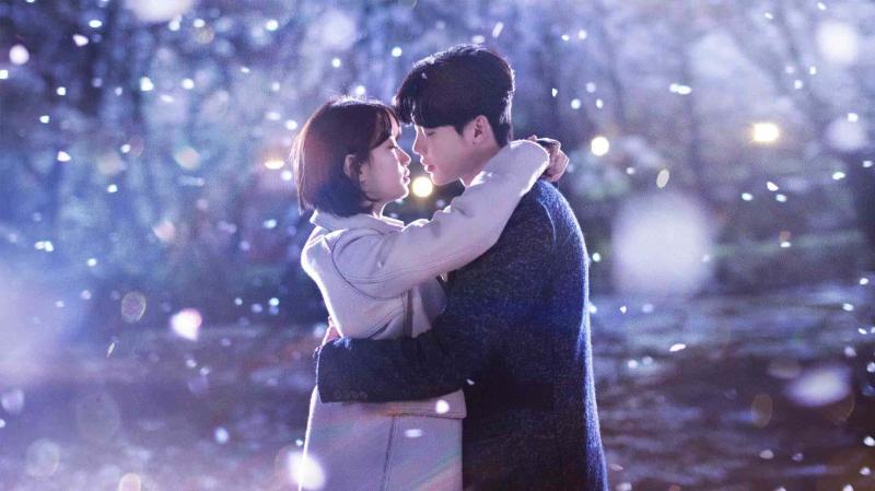 Cảnh quay lãng mạn của 2 nhân vật chính trong phim