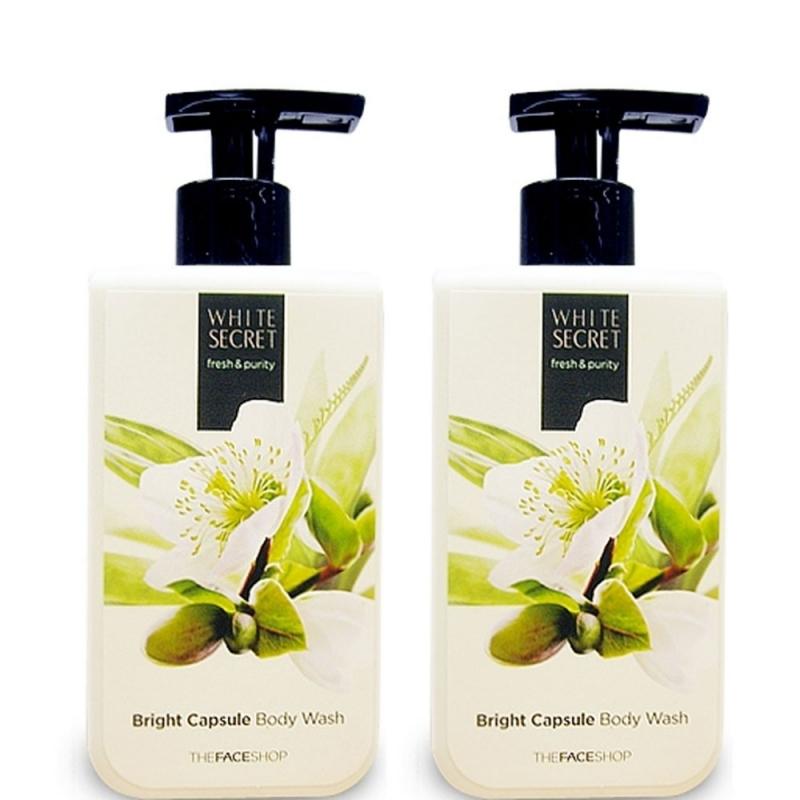 White Secret Bright Capsule Body Wash - The Face Shop