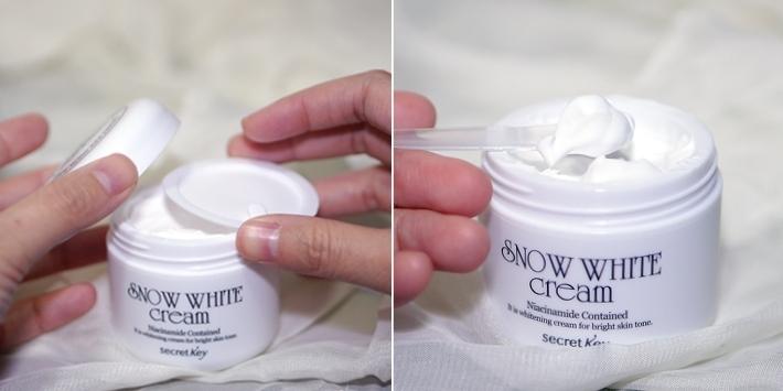 White Snow Cream