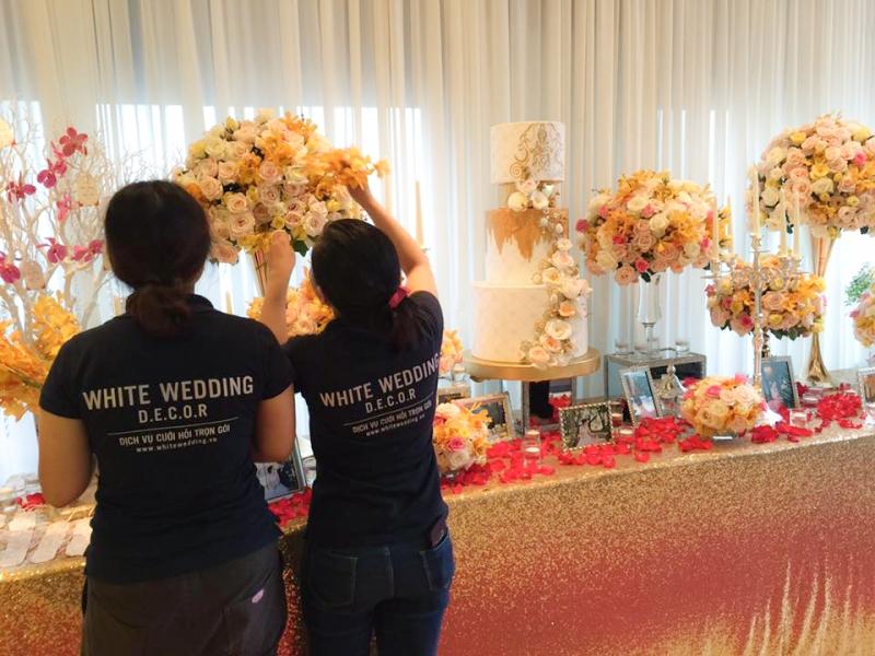 White Wedding House sẽ lo cho khách hàng từ những thứ nhỏ nhất.