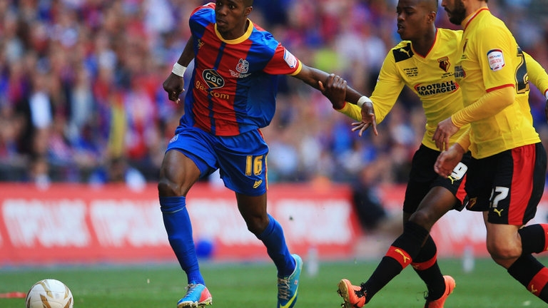 Wilfried Zaha (Crystal Palace - 34,79 km/h)