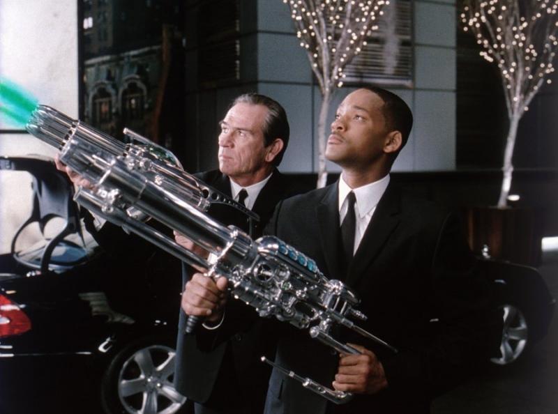 Will Smith trong phim Đặc vụ áo đen