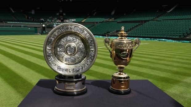 Chiếc cúp của giải Wimbledon