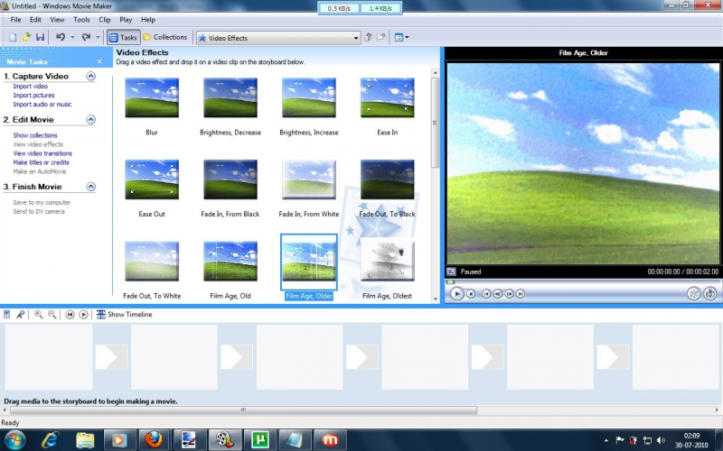Đáp ứng nhu cầu làm video cơ bản cho nhiều người dùng của Windows Movie Maker