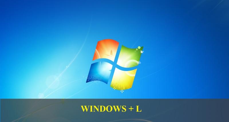 Tổ hợp phím Windows + L
