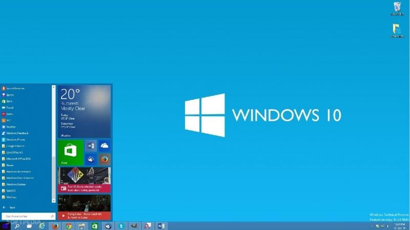 Các cửa sổ làm việc được chuyển về chế độ Minimize với tổ hợp Windows + M