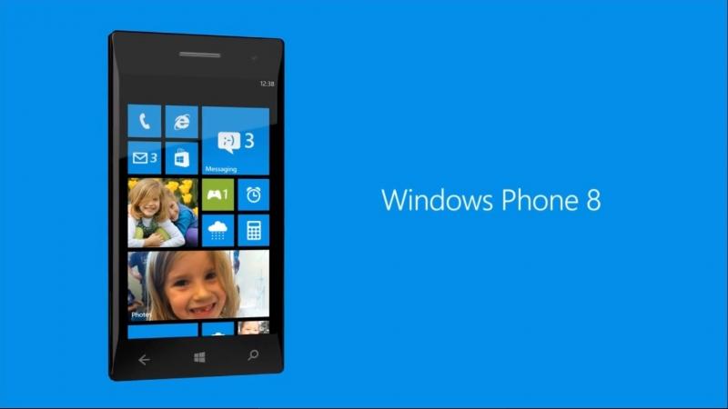 Giao diện hệ điều hành Windows Phone 8