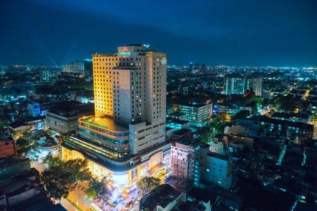 Khách sạn Windsor Plaza nhìn từ trên cao