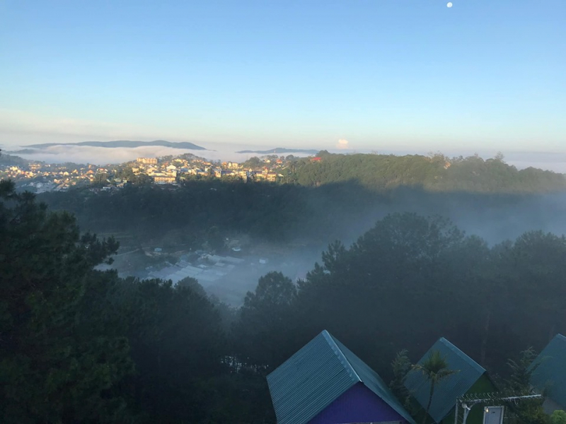 View nhìn từ Windy Hill