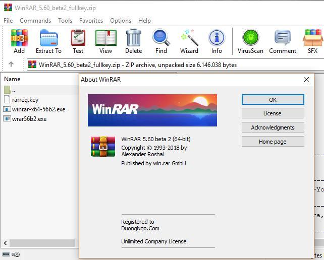 WinRAR là phần mềm giải nén tập tin phổ biến nhất