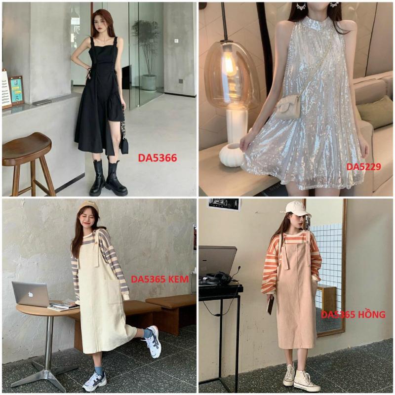 Một vài mẫu quần áo đang được bán tại Wpaini Shop