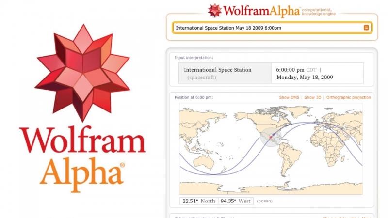 Wolfram Alpha là website cung cấp công cụ tìm kiếm tập trung vào kiến thức, thông tin định lượng khoa học