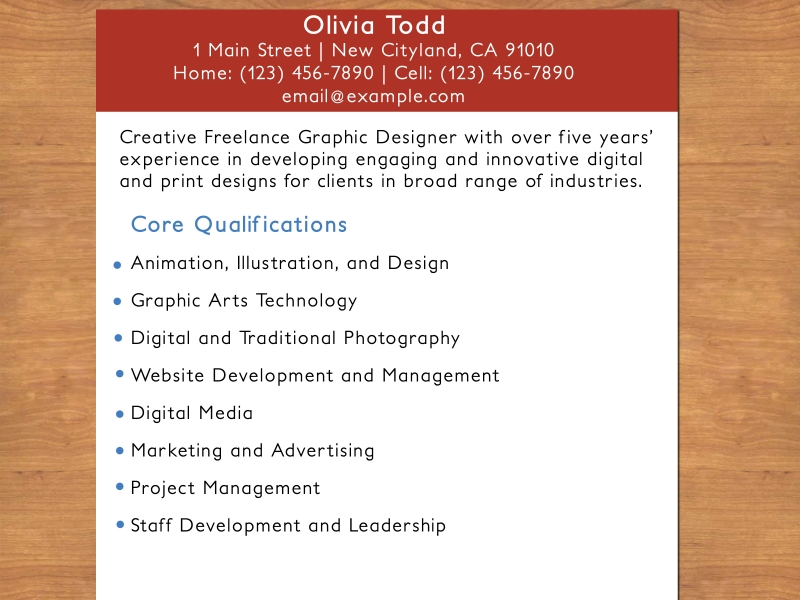 Write Your Resume Online