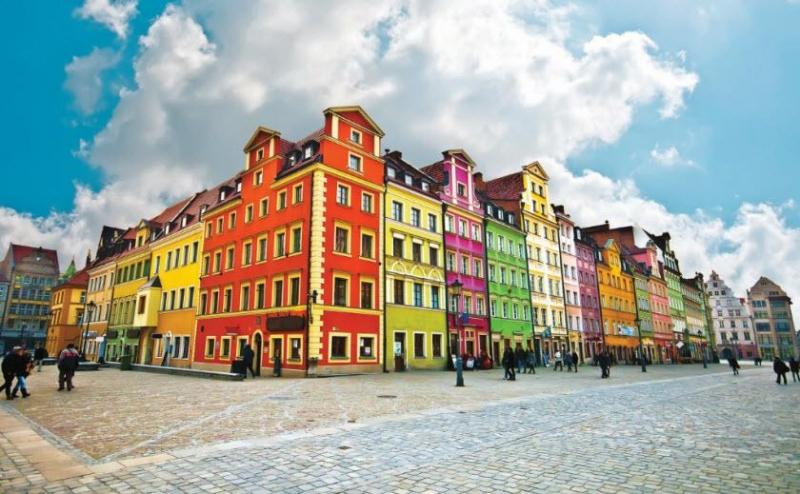 Thủ Phủ của Ba Lan rực rỡ sắc màu
