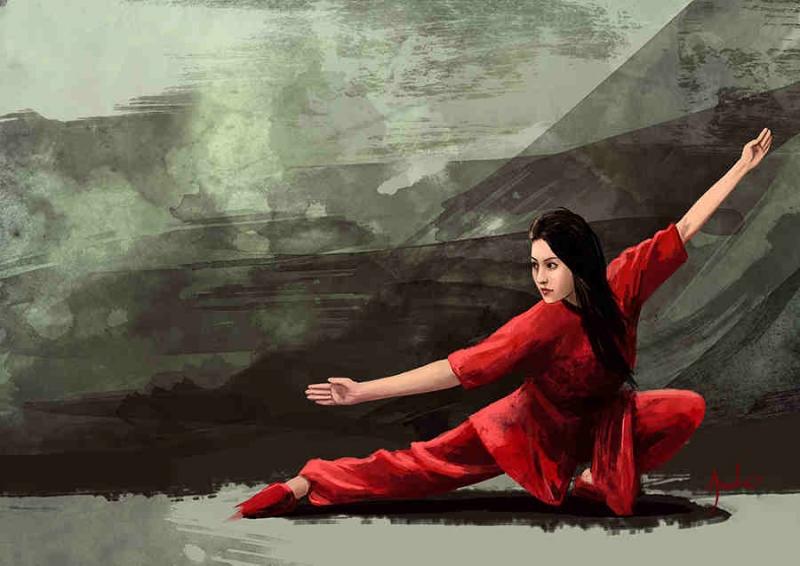 Wushu giúp bạn tăng cường sức khỏe.