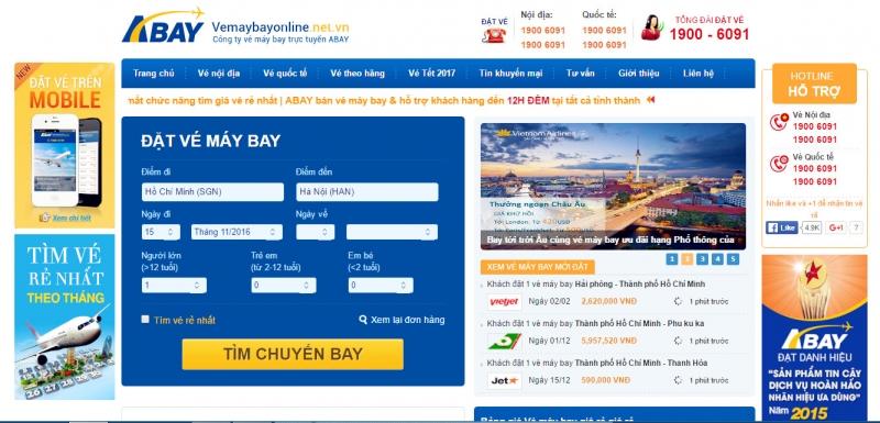 www.vemaybayonline.net.vn