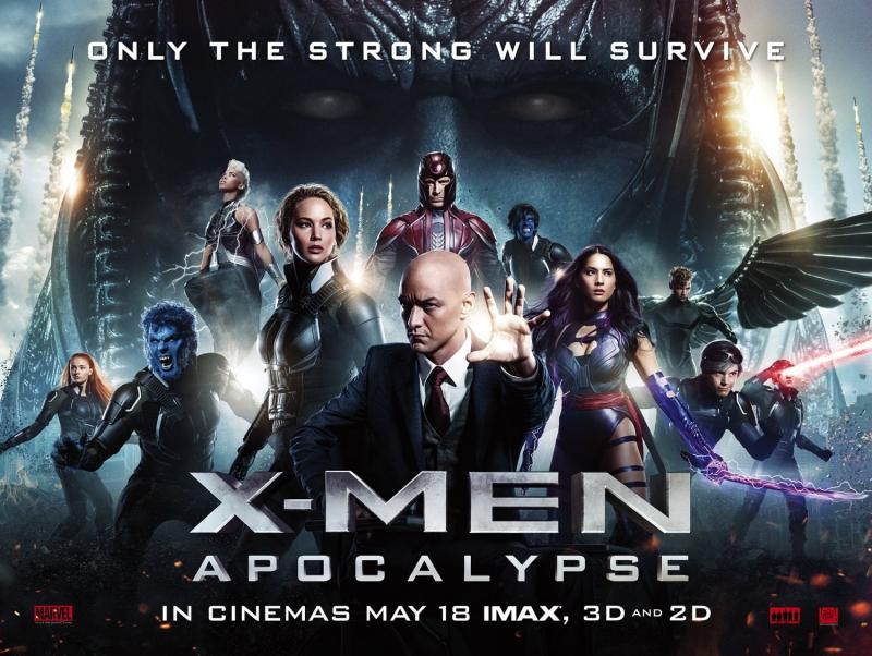 X-Men: Apocalypse (T5/2016)