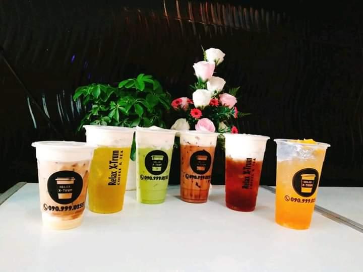 Các loại thức uống của quán