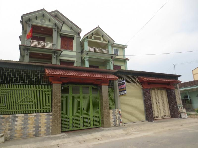 Các căn biệt thự mọc lên lộng lẫy ở xã Diễn Tháp - Diễn Châu