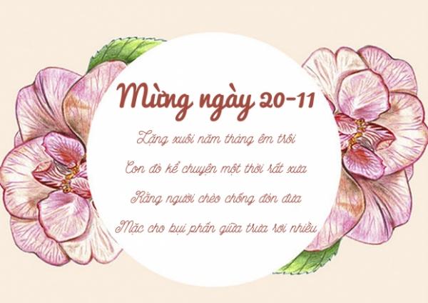 Xã luận chào mừng ngày nhà giáo Việt Nam 20-11