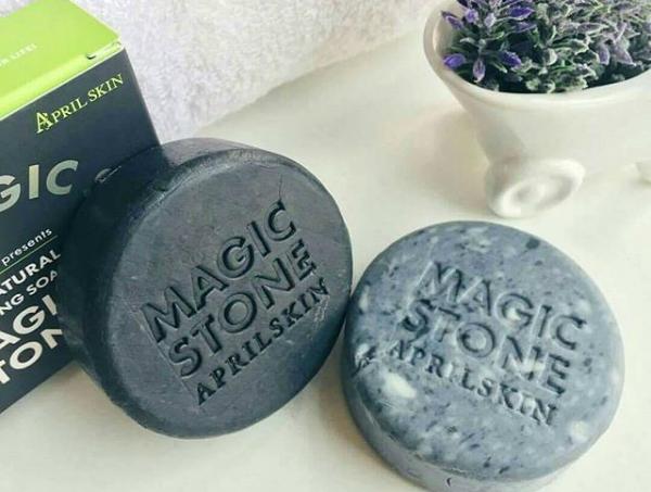 Xà phòng rửa mặt April Skin Magic Stone