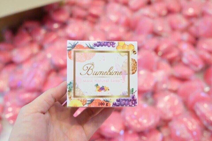 Xà bông Thái Lan kích trắng Bumebime