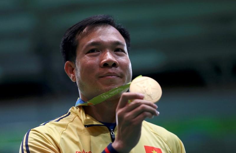 Xạ thủ Hoàng Xuân Vinh giành huy chương vàng Olympic