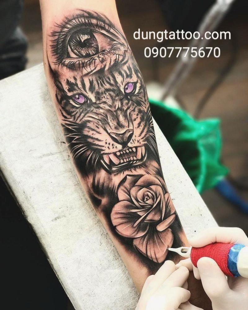 Một tác phẩm của Dũng Tattoo