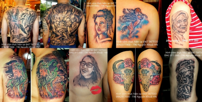 Xăm Nghệ Thuật Hà Nội - Đạt Tattoo