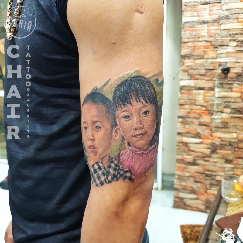 Xăm Nghệ Thuật - Tattoo Chair