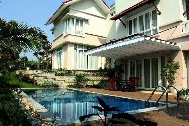 Xanh Villa nằm trong quần thể biệt thự, homestay đẳng cấp, sang trọng trên nền thiên nhiên xanh mát, trong lành