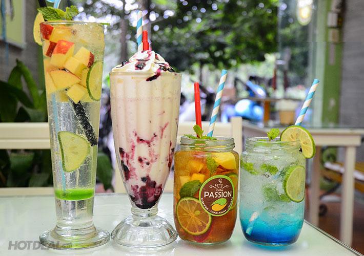 Các thức uống cần đa dạng, ưa nhìn