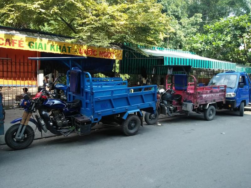Xe ba gác chở thuê - Tập đoàn xe ba gác Sơn Hà