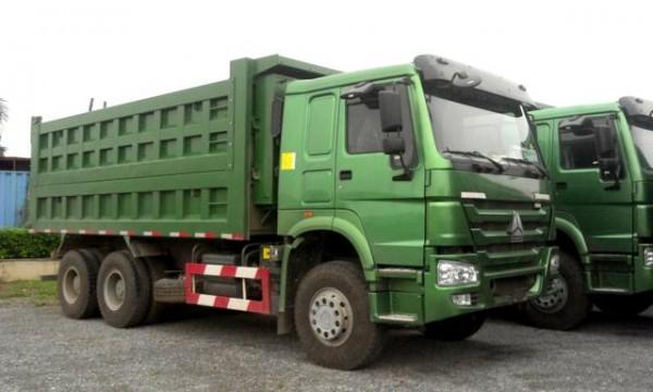 Xe tải ben Howo