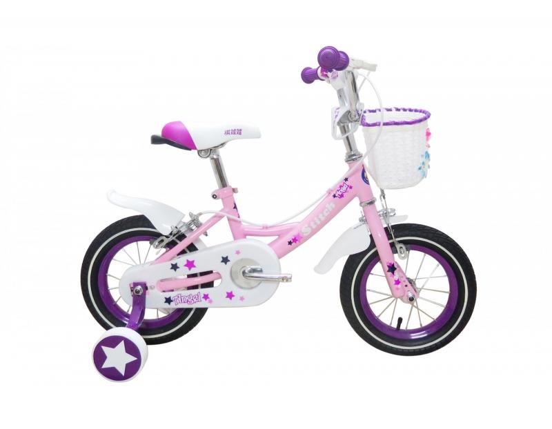 Kiểu xe đạp nữ tính cho bé gái