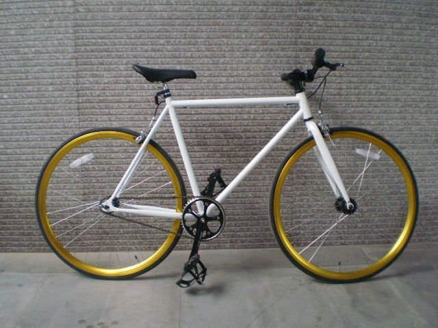 Fixed Gear Single Speed vành 5 cm