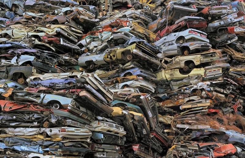 Mỹ là nơi chứa rác thải xe hơi lớn nhất trên thế giới
