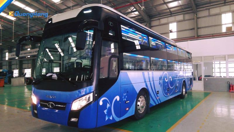 Dương Hồng tăng cường xe mới phục vụ hành khách