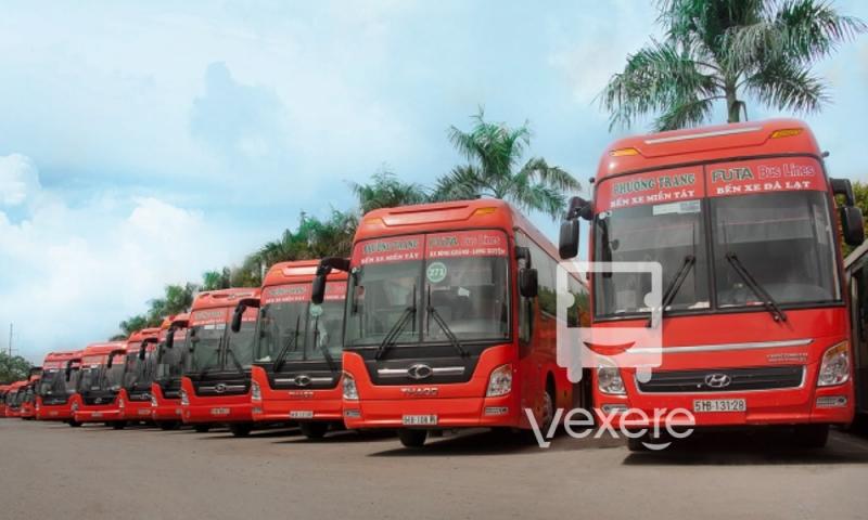 Hình ảnh xe Phương Trang