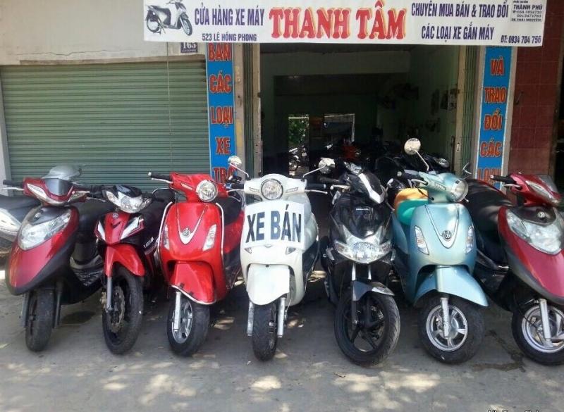 Xe máy cũ Thanh Tâm không da dạng về chủng loại nhưng yên tâm về chất lượng.