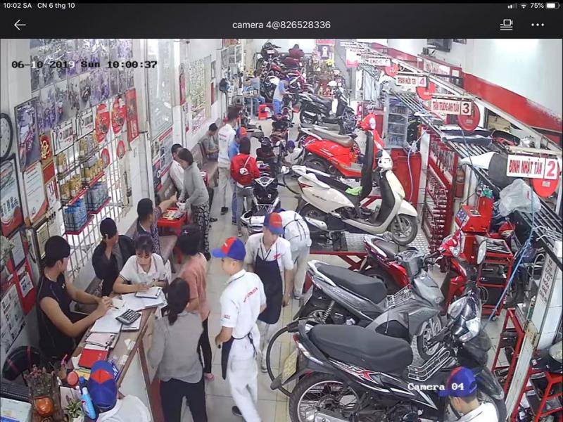 Tiệm Sửa chữa Xe Máy Tài Lũ giờ cao điểm