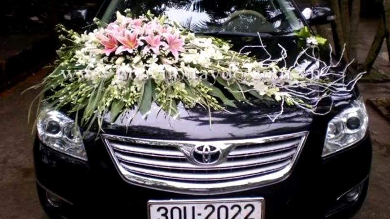 Xe hoa được trang trí tinh tế, sang trọng