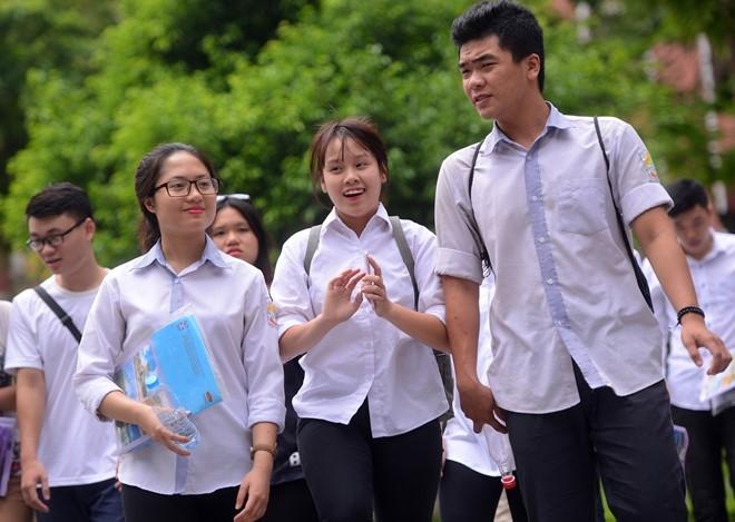 Có 03 trường xét tuyển dựa theo kết quả 6 học kỳ THPT