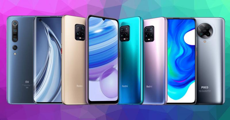 Nhiều dòng Smartphone của Xiaomi gây ấn tượng hiện nay