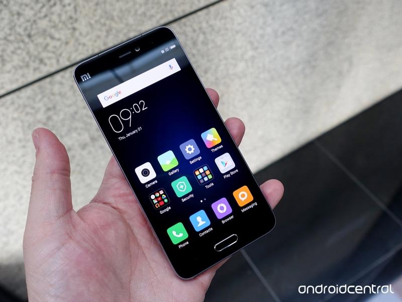 Xiaomi Mi 5 với cấu hình mạnh mẽ,