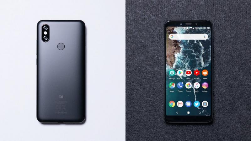 Smartphone tầm trung Xiaomi Mi A2