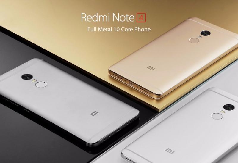 Xiaomi Redmi Note 4 sở hữu thiết kế đẹp, cấu hình rất tốt trên một giá tiền vừa phải