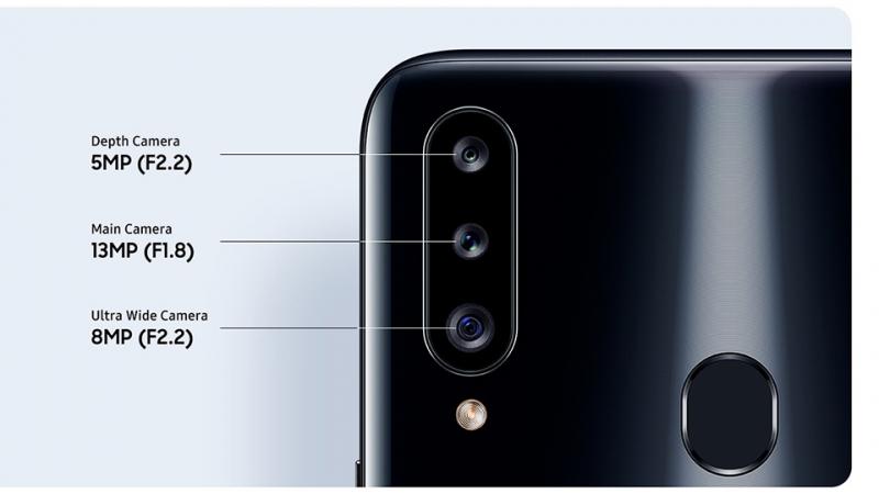 Bộ 3 camera của Samsung Galaxy A20s